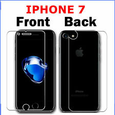 100% Genuine Tempered Glass Screen Protector Front & Back for Apple iPhone 7