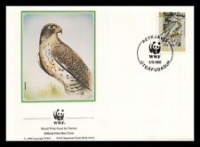 Iceland 1992 FDC, Gyrfalcon. 20kr. WWF. Nature. Maxi Card. Lot # 2.