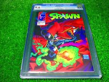 CGC Comic graded 9.6 spawn #1 1st app Key issue image 1992