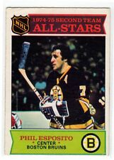 1X PHIL ESPOSITO All Star 1975 76 O Pee Chee #292 VG opc Lots Available