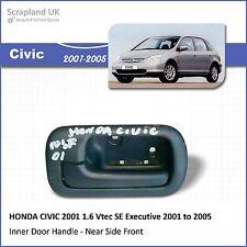 - HONDA CIVIC 1.6  VTEC SE Executive 2001-2005 Interior Door Handle (All Doors)