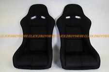 F1spec Type 5 Racing Seat Black Spg Vios Gias Cuga Digo Jdm Pair