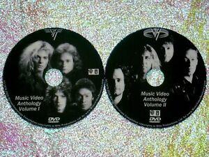 VAN HALEN Music Video Anthology 1978 to 2020 2 DVD Set 37 Videos Eddie FREE SHIP