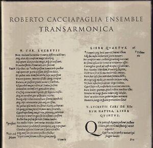 EBOND Roberto Cacciapaglia Ensemble - Transarmonica CD 5016