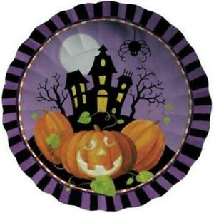 Halloween Haunting 11 Inch Paper Tray Halloween Party Tableware Decorations
