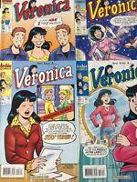 VERONICA. NO'S 157-160. ( 4 ISSUE LOT ) 2004. ARCHIE COMICS.  HIGH GRADE.