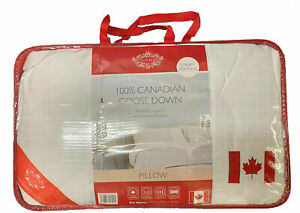 100% Canadian Goose Down Luxury Pillows - 1100gram - Hotel Quality