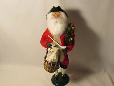 Byers Choice 2006 Exclusive Williamsburg Holiday Shopping Man New