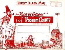1986 Poor Ol' George Cal-En-Dur & Possum Country News Set