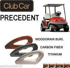 Club Car Precedent 2004-2011 Golf Cart Hip Restraints / Arm Rest Seat Rails