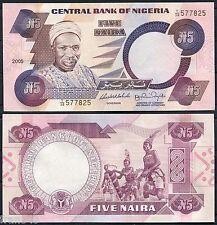 NIGERIA 5 Naira 2005  Sign 14  Pick 24 j   SC / UNC
