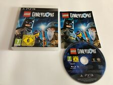 PS3 LEGO DIMENSIONS VIDEO GAME - AGE 6+ EXCELLENT Game Only