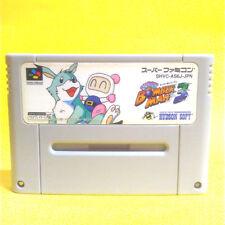 S8 BOMBER MAN 3 JAPAN SNES SFC Nintendo Super Famicom Japanese Free Shipping