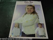 Peter pan cupcake cardigans tricot motif (P1077)