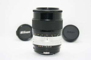 [NEAR MINT]Nikon NIKKOR-Q Auto 135mm F/2.8 w/ front and rear cap (Tested!)