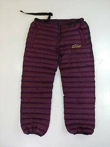 Down Snow Pants Puffy Size XXL mountain gear snow ski board hiking warm
