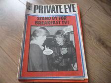 December Private Eye History & Politics Magazines