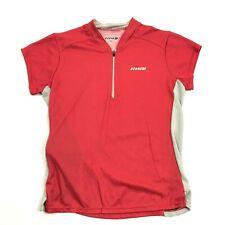 Hind Femmes 1/4 Fermeture Sec T-Shirt Pull Manche Courte Taille M Poche