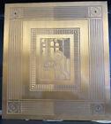 Antique Ultra Rare Art Deco Machine Age Copper? Bronze ? Engraved Bldg Plaque