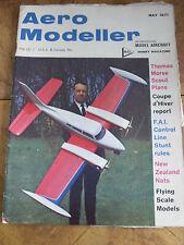 AERO MODELLER  MAG MAY 1971 NEW ZEALAND NATIONALS BROUCEK W-01 STEERED GLIDERS