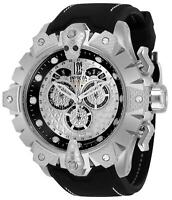 32557 Invicta Jason Taylor Men's 52mm Quartz Chrono Butterfly Buckle Strap Watch