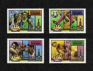 Grenada Grenadines 1980 Olympics Games complete set of 4 values (SG 387-390) MNH