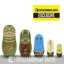 Star Wars Jabba's Palace Nesting Dolls - Entertainment Earth Exclusive NEW