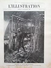 L' ILLUSTRATION 1908 N 3422 L' INCENDIE DE L'HOTEL DE TELEPHONES A PARIS