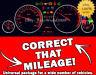 Correct that MILEAGE ! (Correction Odometer software's Pack)