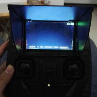 Sunshad Hubsan H107D+ H501S RC Quadcopter #v Spare Parts Transmitter Hood Shade