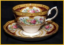 6 x Royal Albert Lady Hamilton Tea Cups & Saucers - New Unused 1st Quality