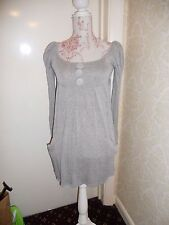 Mini Vestido Lindo Túnica TFNC gris con mangas de soplo 8 10 Primavera Lolita