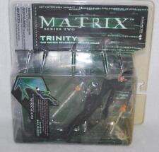 2003 THE MATRIX SERIES 2 TRINITY FIGURE COLLECTIBLE NEW