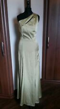 Aida Zak @ Collectif London Vintage Grace Evening Dress Olive Green size 8 BNWT