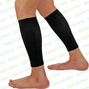 Elastic Calf Support Compression Sleeves Running Leg Pain Shin Splints Men Women