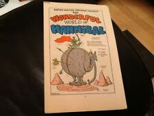 MONSTER FUN BAD TIME BED TIME BOOK 1970's Paper pull, cut out HANNIBAL