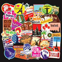 100 Travel Graffiti Sticker Bomb Vinyl Decals Dope For Skateboard Luggage Laptop