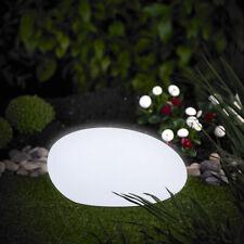 XL LED Solarkugel Gartenkugel Stein 40cm Leuchte mit Farbwechsel RGB LK03-6