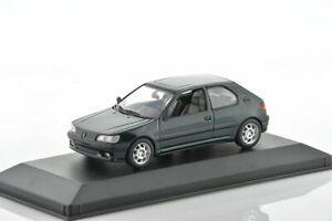 PEUGEOT 306 Green Metallic 1995 1/43 MINICHAMPS 430112500