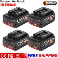 für Bosch Akkus 18V 5,0Ah GBA GSR GSB GDR BAT609 BAT620 BAT618 2607337070 Li-Ion