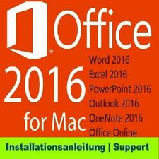 MS Office 2016 Home and Business for MAC Standard 1 Pc #01