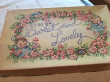 Vintage Baby Gift Box