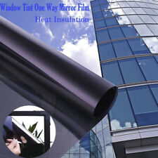 One Way Mirror Window Film Solar Tint Reflection Decorative Heat Privacy Control
