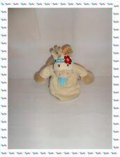 ♣ - Doudou Marionnette Cheval Ane Indien Beige Pinto Kaya  Noukies Noukie's