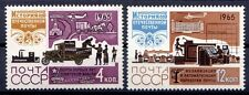 Russia - 1965 History of the mail - Mi. 3134-35 MNH