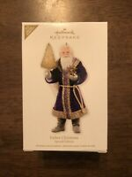 New Hallmark 2012 Keepsake Father Christmas Tree Ornament Special Edition