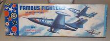 VERY RARE 1954  AURORA  [1st WEST HEMPSTEAD]) GRUMMAN F9F PANTHER ~1/48 + BONUS'