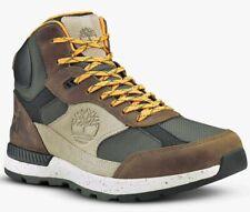 Timberland Mens Hiker Boots Field Trekker Mid, Hiker Boots, Dark Brown, UK 8