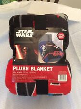 New In Package Star Wars Blanket Very Soft** Size 62x90