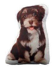 Puppy Dog Shaped Photo Decorative Accent Throw Pillow